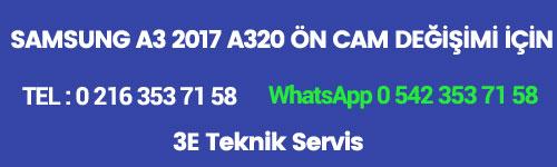 Samsung A3 2017 Ön Cam Değişimi