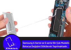 Samsung Telefonlarda Batarya Değişimi